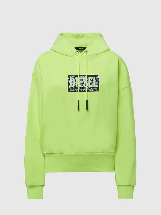F-MAGDALENA-E1, Green Fluo - Sweaters