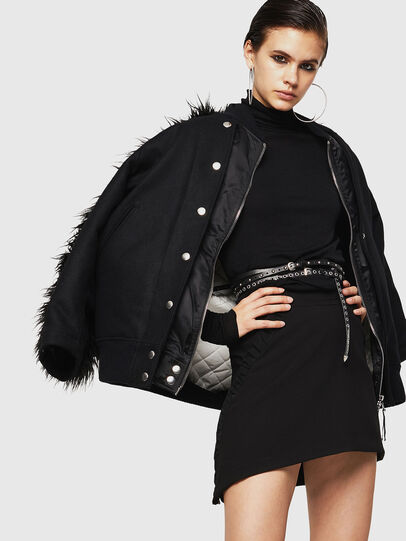 Diesel - ONAT, Black - Skirts - Image 4