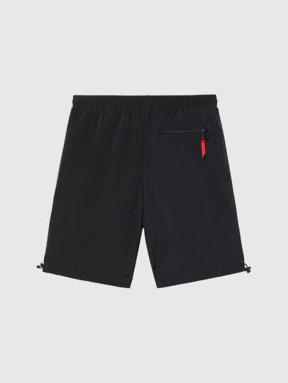 Diesel - UMLB-PANLEY, Black/Red - Pants - Image 2