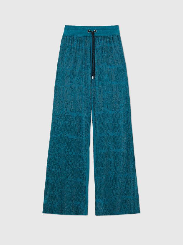 P-STRASS-D, Water Green - Pants