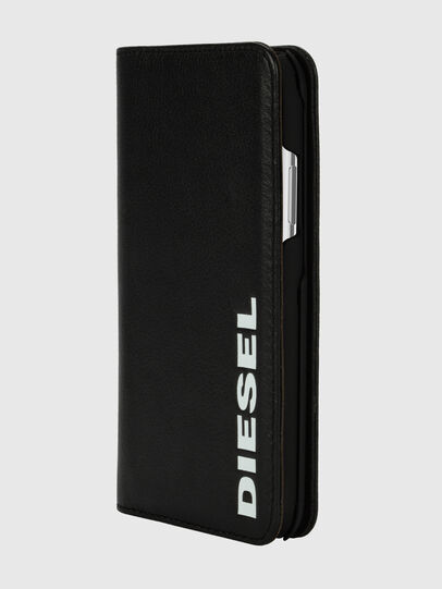 Diesel - DIESEL 2-IN-1 FOLIO CASE FOR IPHONE XS & IPHONE X, Black/White - Flip covers - Image 3
