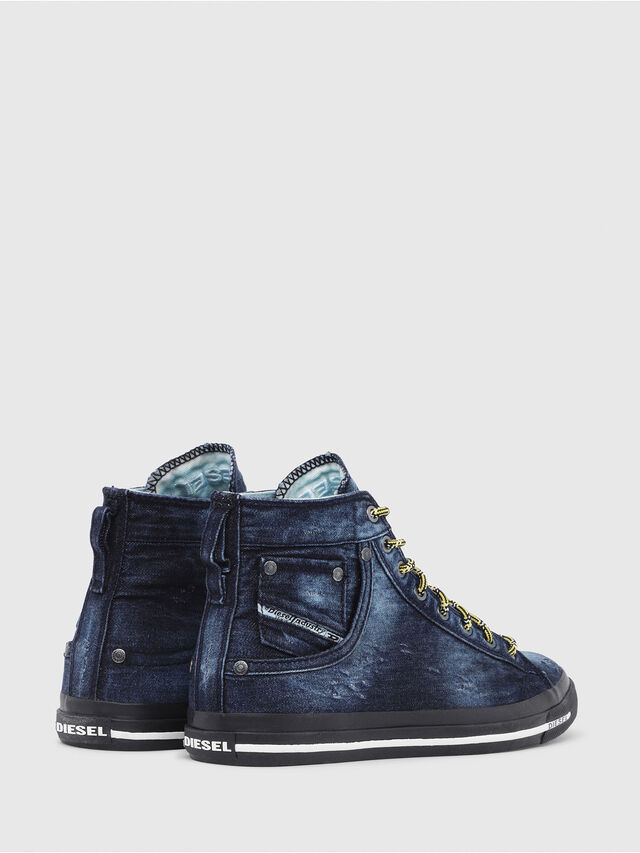 Diesel - EXPOSURE I, Blue Jeans - Sneakers - Image 3
