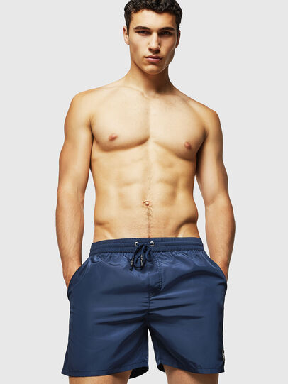 Diesel - BMBX-CAYBAY, Dark Blue - Swim shorts - Image 1