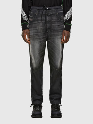 D-Skint JoggJeans 069PC, Black/Dark grey - Jeans