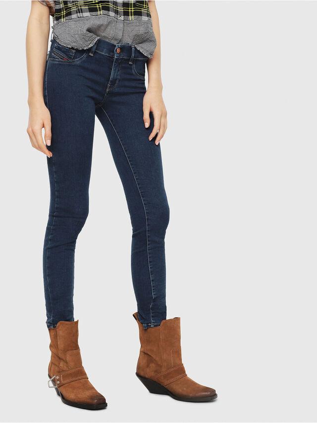 Diesel - Livier 069CX, Medium blue - Jeans - Image 1