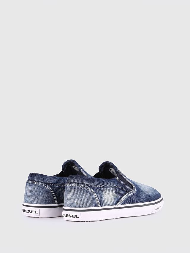 KIDS SLIP ON 21 DENIM YO, Blue Jeans - Footwear - Image 3