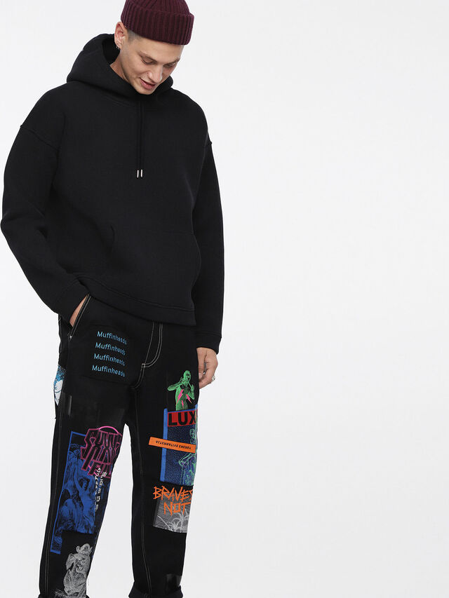 Diesel - S-GORDON, Black - Sweaters - Image 4