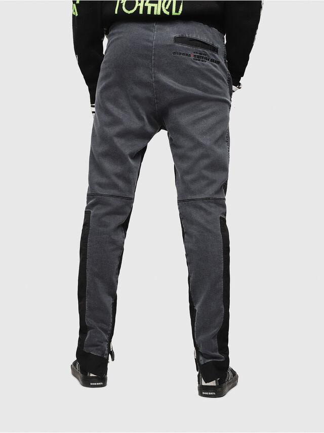 Diesel - D-Eeley JoggJeans 0LAUH, Black/Dark grey - Jeans - Image 2