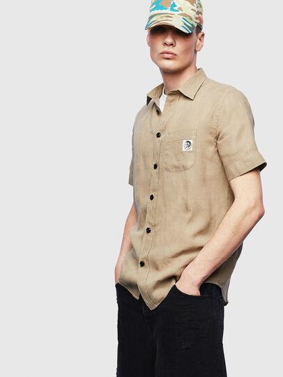 Diesel - S-KIRUMA-B, Beige - Shirts - Image 1