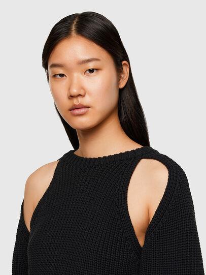 Diesel - M-SAPPHIRE, Black - Knitwear - Image 3