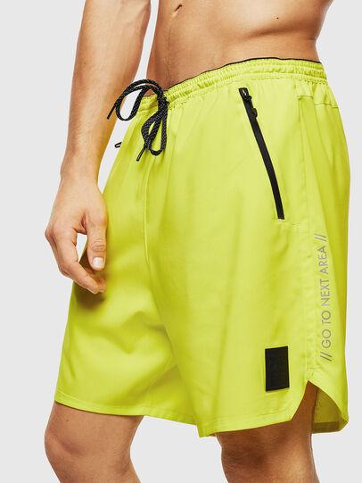 Diesel - BMBX-TUNA, Green Fluo - Swim shorts - Image 4