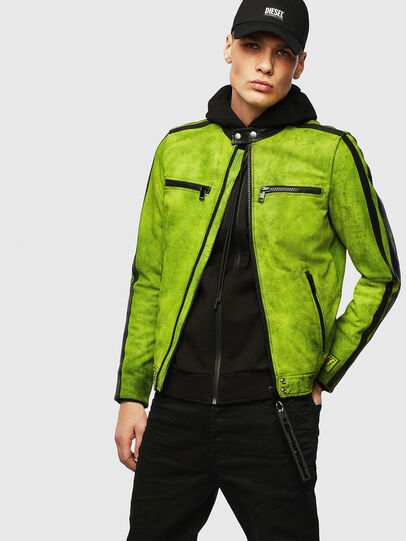 Diesel - L-BOY-A,  - Leather jackets - Image 4