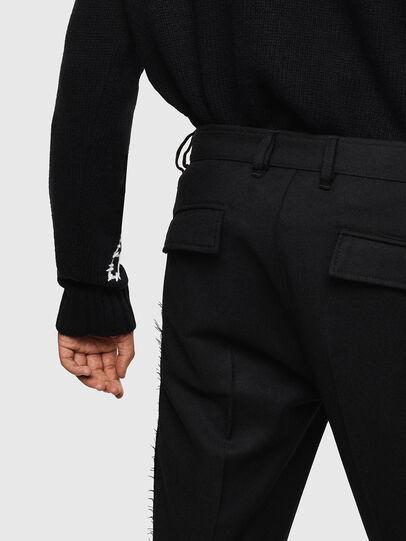 Diesel - P-RING-SMP, Black - Pants - Image 6