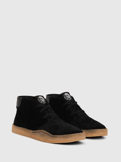 Diesel - H-CLEVER PAR DESERT, Black - Sneakers - Image 2