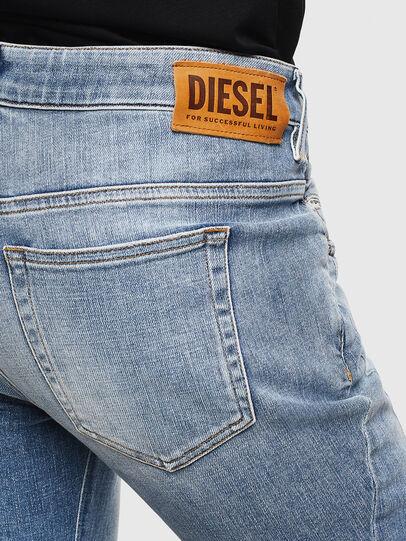 Diesel - Fayza 0099M, Medium blue - Jeans - Image 4