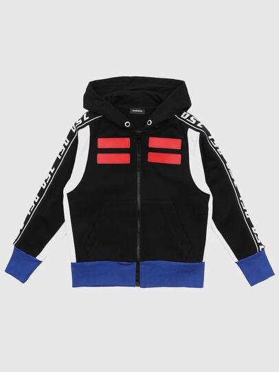 Diesel - SJHID OVER, Black - Sweaters - Image 1