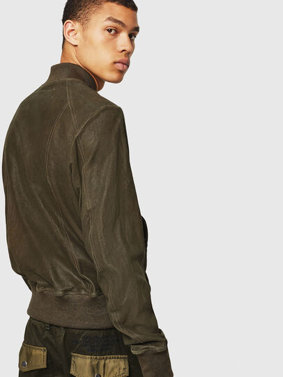 Diesel - L-NIKOLAI, Military Green - Leather jackets - Image 4