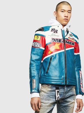 ASTARS-LPATCH-1B,  - Leather jackets