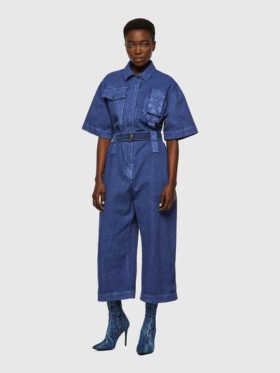 Diesel - DE-MARTY-SP, Blue - Jumpsuits - Image 1