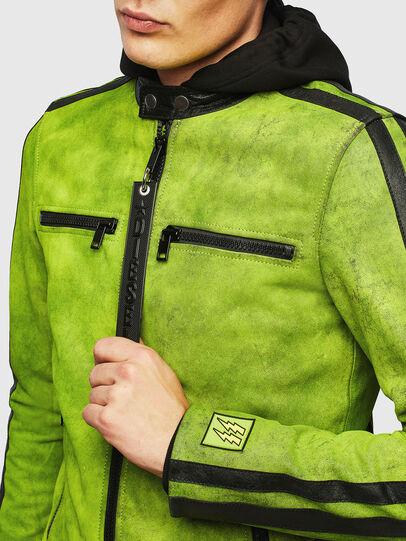 Diesel - L-BOY-A,  - Leather jackets - Image 3