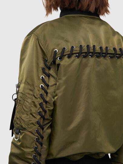 Diesel - W-SWING, Military Green - Winter Jackets - Image 3