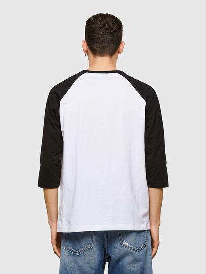 Diesel - T-BEISBOL, White - T-Shirts - Image 2