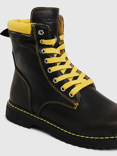 Diesel - HB LACE UP 04 CH, Black - Footwear - Image 4