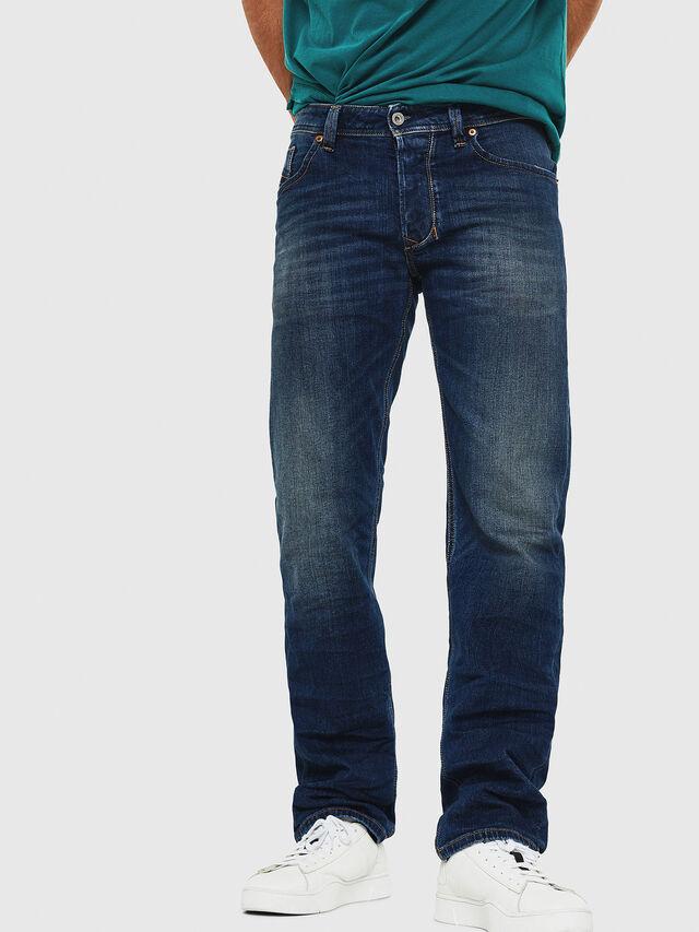 Diesel - Larkee 087AW, Dark Blue - Jeans - Image 1