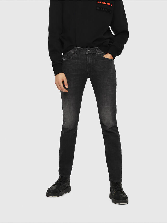 Diesel Thommer 0687J, Black/Dark grey - Jeans - Image 1