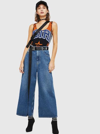 Diesel - D-Luite 080AN, Medium blue - Jeans - Image 6