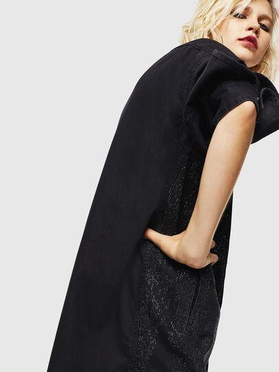 Diesel - DE-OBAX-SX, Black/Dark grey - Dresses - Image 6