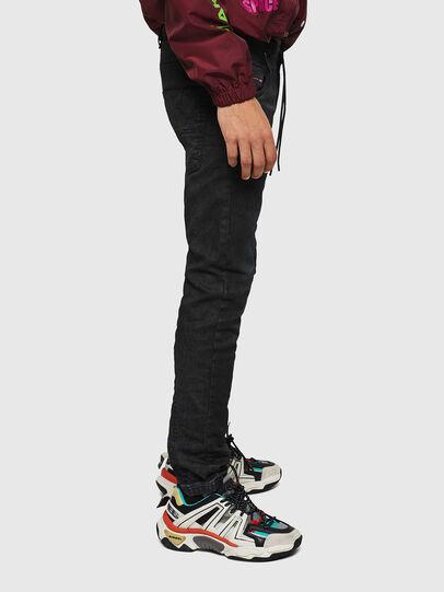 Diesel - Krooley JoggJeans 069GP, Black/Dark grey - Jeans - Image 6