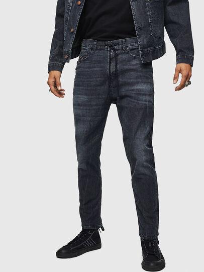 Diesel - D-Vider JoggJeans 0090H, Dark Blue - Jeans - Image 1