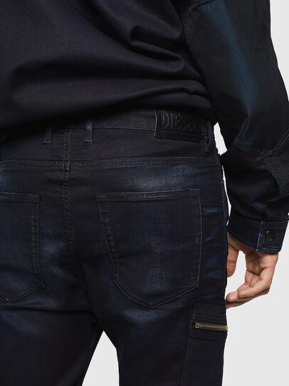 Diesel - D-Vider JoggJeans 069IC, Dark Blue - Jeans - Image 4