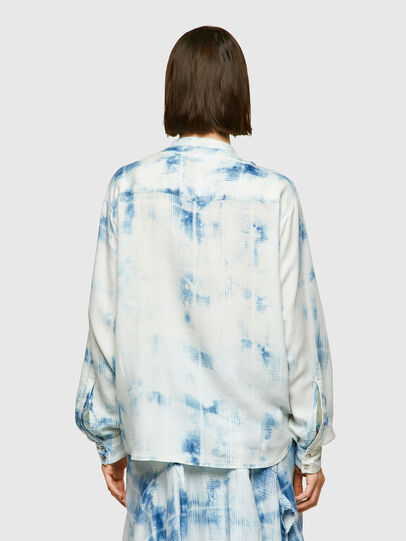 Diesel - C-OVER, Blue/White - Shirts - Image 2