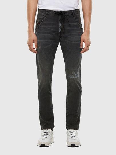 Diesel - KROOLEY JoggJeans® 009LB, Black/Dark grey - Jeans - Image 1