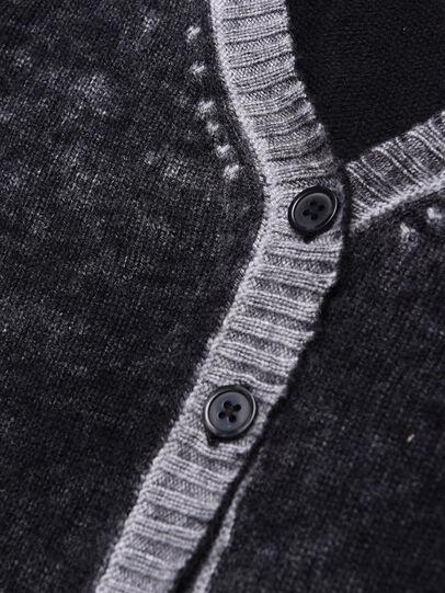 Diesel - KBUSTY, Black/Grey - Knitwear - Image 3