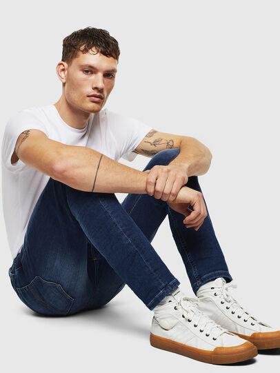 Diesel - Thommer JoggJeans 088AX, Dark Blue - Jeans - Image 4