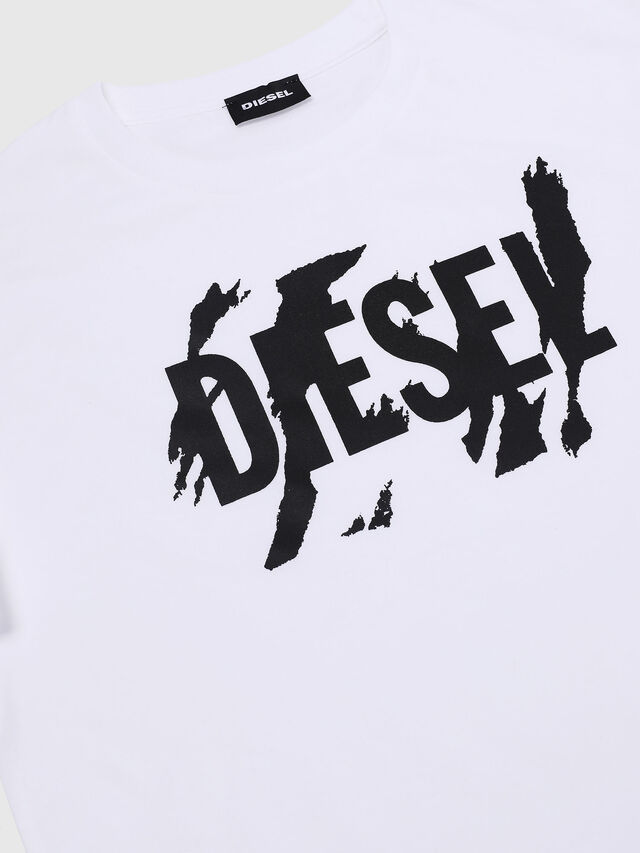 Diesel - TLUCAS MC, White - T-shirts and Tops - Image 3