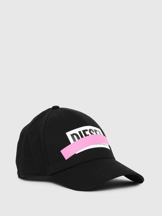 Diesel - CIRIDE, Black/Pink - Caps - Image 1
