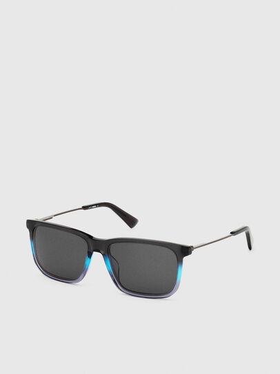 Diesel - DL0309, Black/Blue - Sunglasses - Image 2