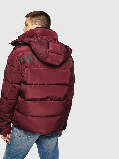 Diesel - W-SMITH-YA, Bordeaux - Winter Jackets - Image 2