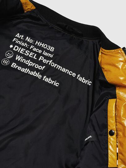 Diesel - W-ON, Yellow - Winter Jackets - Image 7