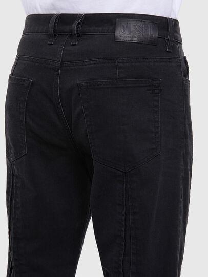 Diesel - D-Vider 009LA, Black/Dark grey - Jeans - Image 5