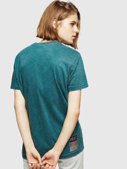 Diesel - T-FLAVIA-IC, Blue - T-Shirts - Image 2