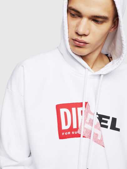 Diesel - S-ALBY, White - Sweaters - Image 3