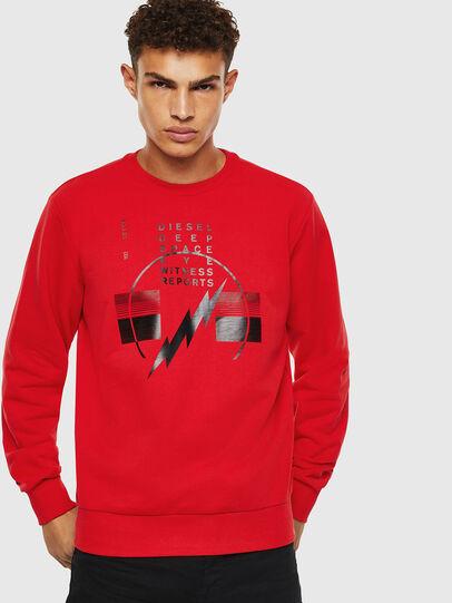 Diesel - S-GIRK-J2, Red - Sweaters - Image 1