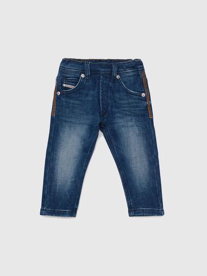 Diesel - KROOLEY-B JOGGJEANS-N, Medium blue - Jeans - Image 1