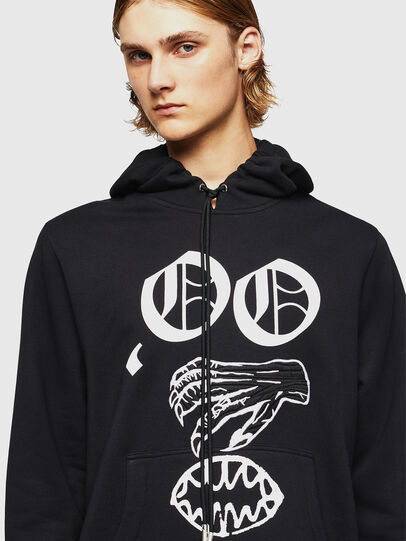 Diesel - SNEILBOOD-X1, Black - Sweaters - Image 4