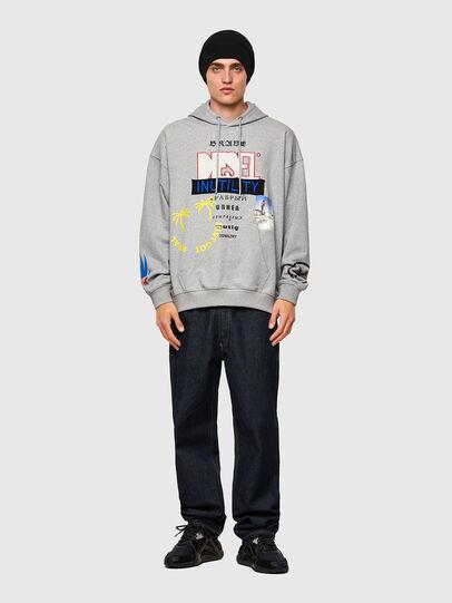 Diesel - S-UMMER-B4, Grey - Sweaters - Image 4